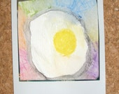 the egg ORIGINAL ART