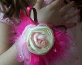Beautiful Custom Princess Wristlet COrSaGe