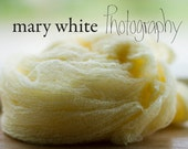 LISTING FOR AMY Cheesecloth wrap for photography prop - Lemon drop yellow