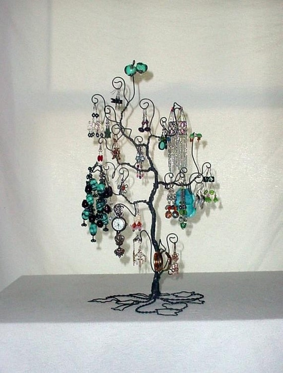 Jewelry Tree Display Stand Earring Necklace Bracelet Holder