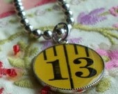 Measuring Tape Pendant