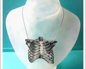 Anatomica Ribcage Necklace