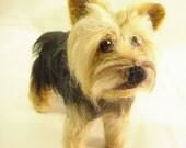 Custom Needle Felted Likeness of Your Dog
