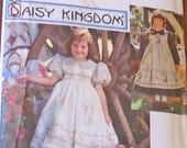 SALE - Uncut Simplicity Pattern 9977 Daisy Kingdom Apron Dress Size 3-6