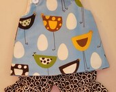 Ring around the Chicken Top and Bloomers.......Sizes NB, 3m, 6m, 12m, 18m, 2T, 3T, 4T, 5T, 6