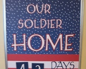 Welcoming Our Soldier Home Countdown Calendar to Benefit the Cora Paige Playground