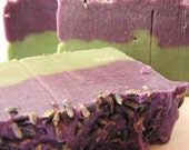 Lavender Mint -  Hot Process Soap From Scratch - scented with pure essential oils