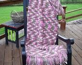 Handmade Crocheted Afghan