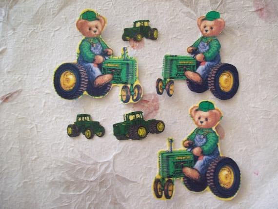 John Deere Teddy Bears : Items similar to john deere tractor teddy bear fabric