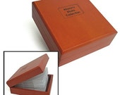 This Wooden CD Case personaly etched with your image and or text.