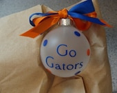 Florida Gator ornament