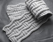 Craft it for him - Julian scarf, easy pattern, perfect gift for your boyfriend, son, father...neighbour