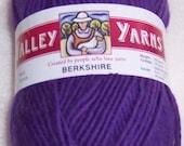 One Skein of Amethyst Valley Berkshire Bulky Yarn