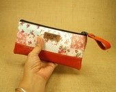 Orange and Sweet - Makeup Pencil bag / case