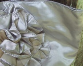 Vintage Silver Lame Purse Women's