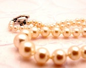 Heirloom Pink Pearl Necklace