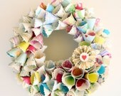 Lingers In The Heart Paper Wreath