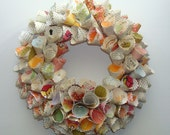 SALE - Imaginary Conversations (Add Your Own Message) Paper Wreath