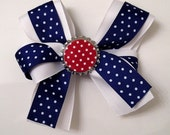 4th of July Layerd Boutique Hair Bow