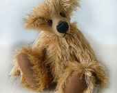 "Artist Bear Pattern - PDF- ""Duffy"" Collectable artist designed mohair bear that you make yourself"