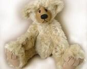 """Teddy bear  PDF pattern """"Milton"""" Collectable artist designed mohair bear by Nioka Bears"""