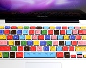 Lego Style MacBook Keyboard Decor Decal Sticker