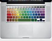Rainbow MacBook Keyboard Decor Decal Sticker
