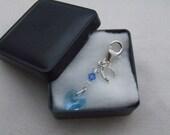 Something Blue, Bridal \/ Wedding Charm