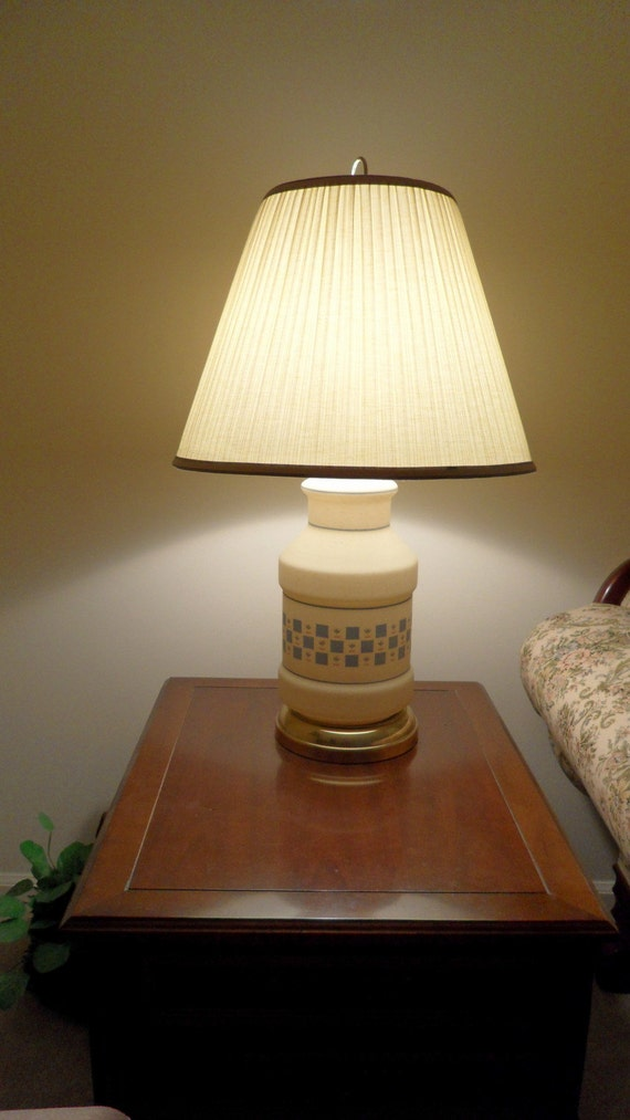 Country Crock Style Lamps