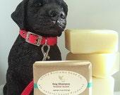 All Natural Vegan Dog Shampoo Bar, Herbal Scent