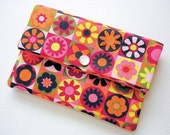 Flower Blocks -- Mighty Mini Pouch