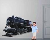 Train Wall Graphic- Reusable Wall Sticker, 21x35, Transportation, Child Decor, Art