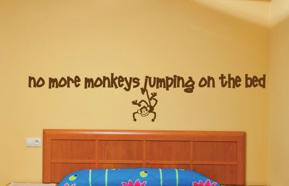 no more monkeys jumping on the bed vinyl by. Black Bedroom Furniture Sets. Home Design Ideas