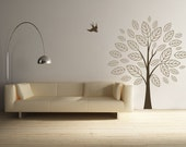 Summer Surreal Tree -- WALL DECAL -- LARGE SIZE