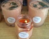 Asian Sandalwood and Eucalyptus Mint Soy Candle