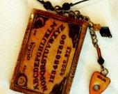 Miniature Ouija Board Necklace- A best seller