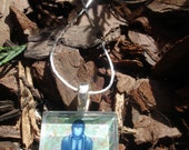 FREE PENDANT (your choice with every two pendants purchased) - BLUE SITTING BUDDHA PENDANT
