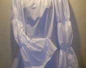 2XL Womens Renaissance Faire Flared Sleeve Blouse Chemise