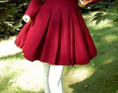 Vintage Early 1940's Wool Cheerleader Uniform with matching bloomers