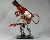 Robot Flame Thrower Hot Sauce Holder