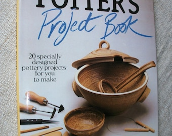 Pottery book - 'The Potter's Project Book' by Peter Cosentino 20 projects to make