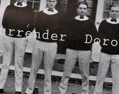 1922 Cheer Leaders St. George's School Newport Rhode Island Photo Print