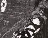 The Pit and the Pendulum Harry Clarke 1933 Edgar Allan Poe Original Vintage Illustration To Frame
