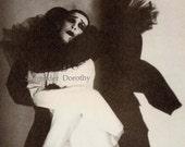 Fredrick Ashton As Pierrot In Carnival 1935 Dance Portrait Photo Illustration Black & White Classic Print To Frame