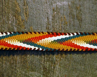 Cowgirl Belt  Braided Trim One Yard 1970s NOS Vintage Supplies For Belts And Hatbands