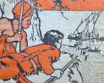 Times Of Peril G A Henty Adventures In India Vintage Book For Boys 1920s Hardcover