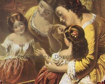 Medicine Show Quackery Mrs Allen's Hair Restorer 1860 Victorian Era Advertisement Poster To Frame