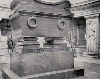 Napoleon's Tomb Paris, France Victorian Architecture 1890 Rotogravure Photo Illustration To Frame