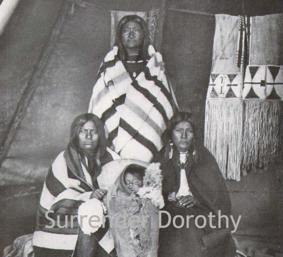 Shoshoni Women Child Native American Vintage Rotogravure Cultural Anthropology Print To Frame 1927