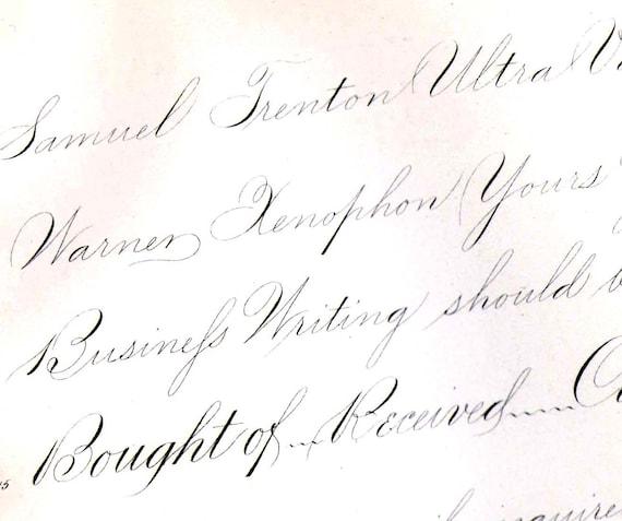 Similiar Palmer Handwriting Keywords